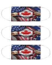 CANADA ROOT Cloth Face Mask - 3 Pack front
