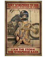 I AM THE STORM  16x24 Poster front