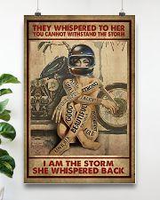 I AM THE STORM  16x24 Poster poster-portrait-16x24-lifestyle-17