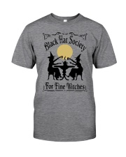 BLACK HAT SOCIETY FOR FINE WITCHES Classic T-Shirt front