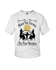 BLACK HAT SOCIETY FOR FINE WITCHES Youth T-Shirt thumbnail