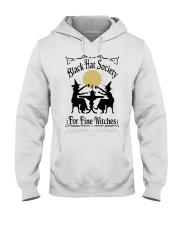 BLACK HAT SOCIETY FOR FINE WITCHES Hooded Sweatshirt thumbnail