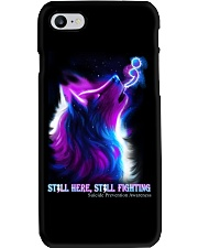 STILL HERE STILL FIGHTING SUICIDE AWARENESS Phone Case thumbnail