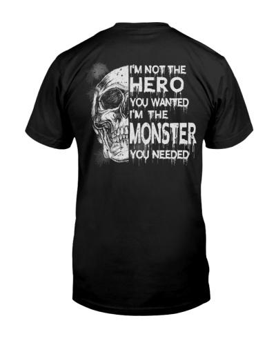 I'm the monster