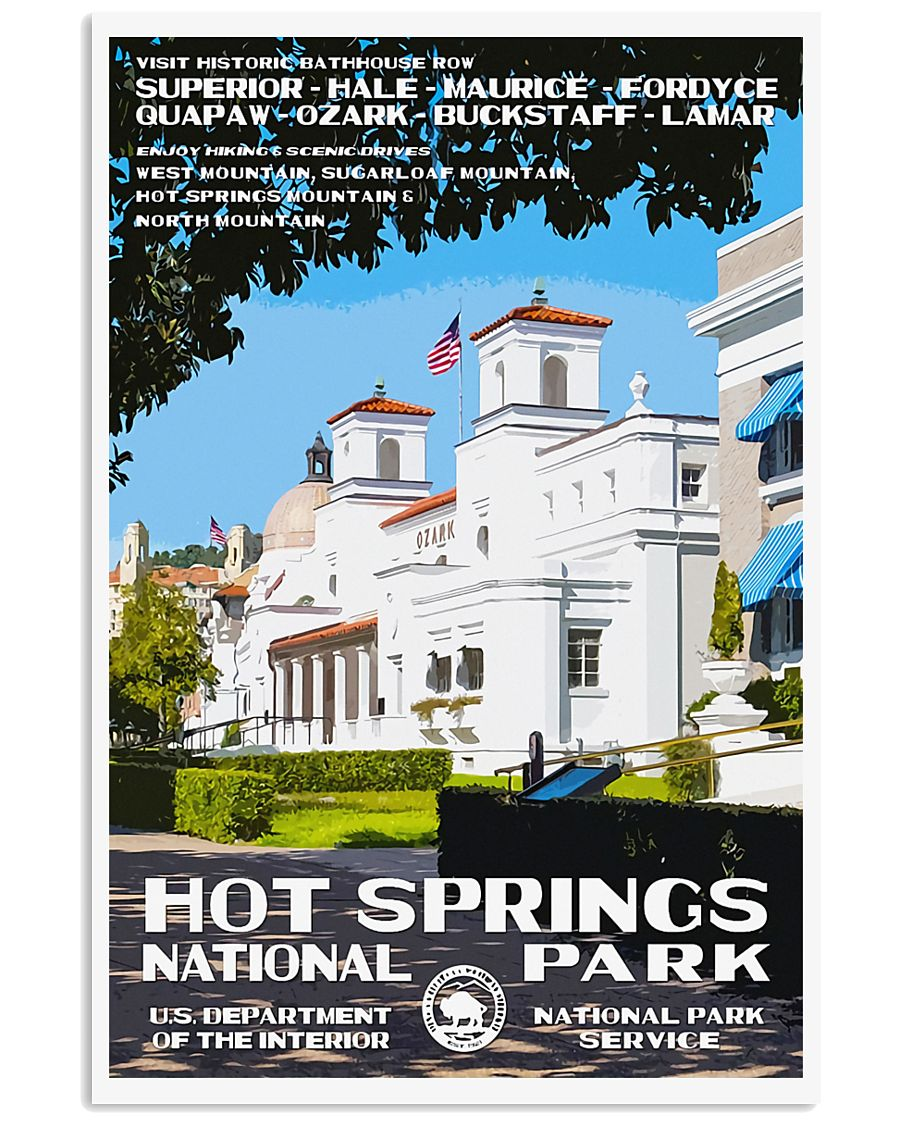 HOT SPRINGS 11x17 Poster