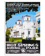 HOT SPRINGS 11x17 Poster front