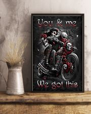 YOU AND ME WE GOT THIS 16x24 Poster lifestyle-poster-3