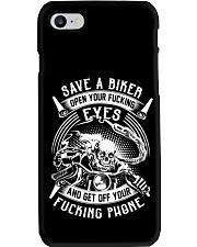 SAVE A BIKER T-SHIRT  Phone Case thumbnail