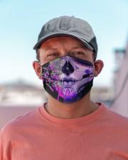 La Catrina Skull 1 Cloth face mask aos-face-mask-lifestyle-06