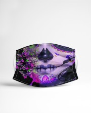La Catrina Skull 1 Cloth face mask aos-face-mask-lifestyle-22