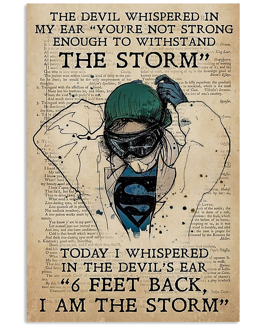 I AM THE STORM 24x36 Poster