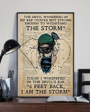 I AM THE STORM 24x36 Poster lifestyle-poster-2