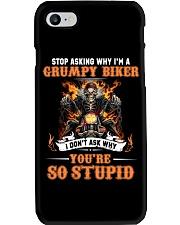 GRUMPY BIKER Phone Case thumbnail