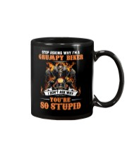 GRUMPY BIKER Mug thumbnail