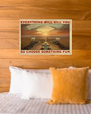 CHOOSE SOMETHING FUN 24x16 Poster poster-landscape-24x16-lifestyle-27
