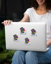 LOVE IS LOVE 3 Sticker - 4 pack (Vertical) aos-sticker-4-pack-vertical-lifestyle-front-14