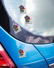 LOVE IS LOVE 3 Sticker - 4 pack (Vertical) aos-sticker-4-pack-vertical-lifestyle-front-26