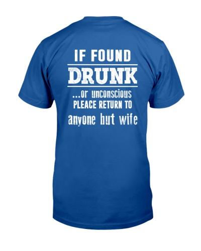 If found drunk