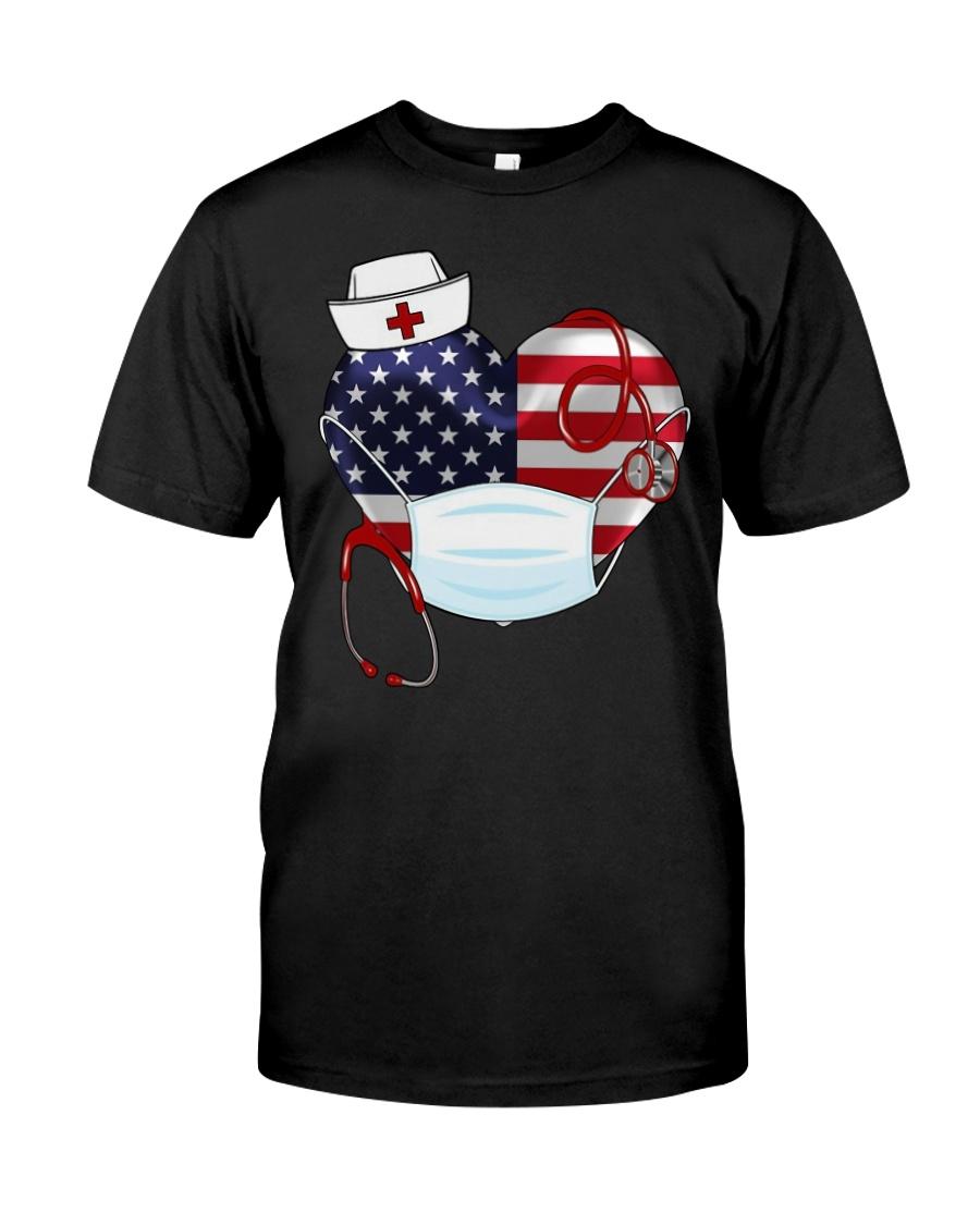 HEART NURSE T-SHIRT  Classic T-Shirt