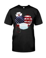 HEART NURSE T-SHIRT  Classic T-Shirt front
