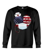 HEART NURSE T-SHIRT  Crewneck Sweatshirt thumbnail