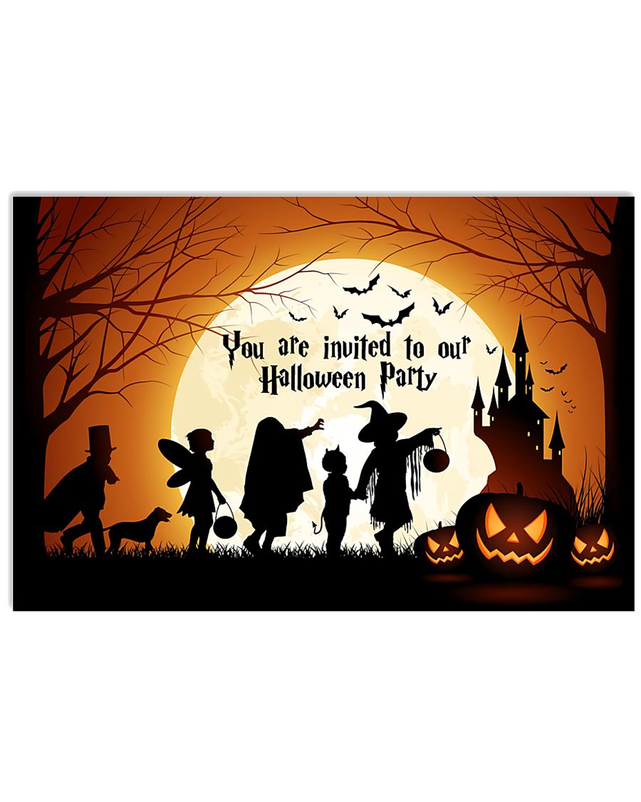 YOU ARE INVITED TO OUR HALLOWEEN PARTY 24x16 Poster