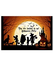 YOU ARE INVITED TO OUR HALLOWEEN PARTY 24x16 Poster front