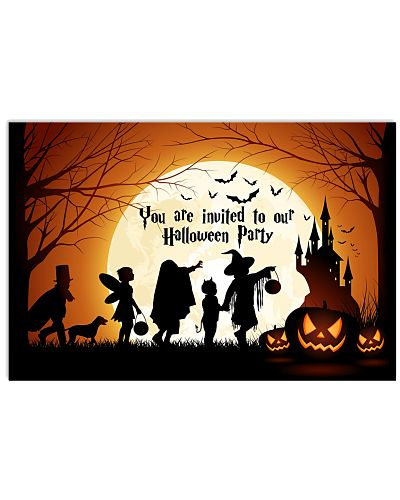 YOU ARE INVITED TO OUR HALLOWEEN PARTY