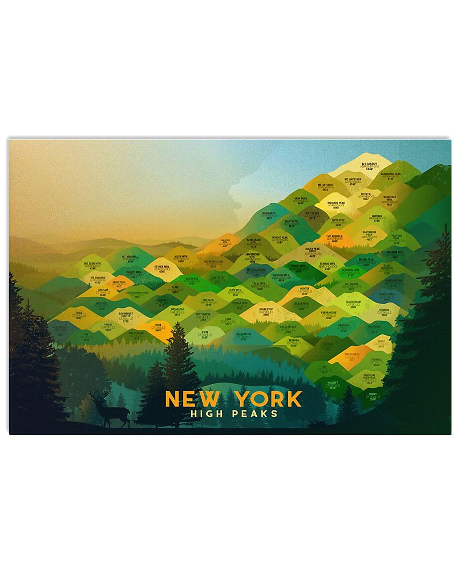NY HIGH PEAKS  24x16 Poster