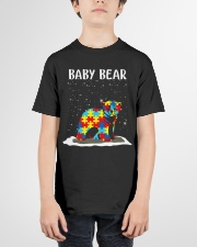 Autism baby bear Youth T-Shirt garment-youth-tshirt-front-01