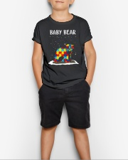 Autism baby bear Youth T-Shirt lifestyle-youth-tshirt-front-1