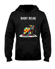 Autism baby bear Hooded Sweatshirt thumbnail
