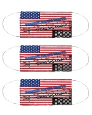 American By Birth LPN By Choice Nurse Cloth Face Mask - 3 Pack front