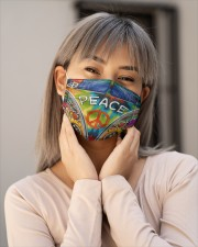 Hippie Life 3 Cloth Face Mask - 3 Pack aos-face-mask-lifestyle-17