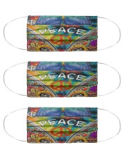 Hippie Life 3 Cloth Face Mask - 3 Pack front