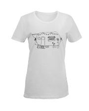 CAMPING PLACE Ladies T-Shirt women-premium-crewneck-shirt-front