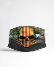 Vietnam Veteran 4 Cloth Face Mask - 3 Pack aos-face-mask-lifestyle-22