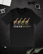 It's ok to be different Classic T-Shirt lifestyle-mens-crewneck-front-16