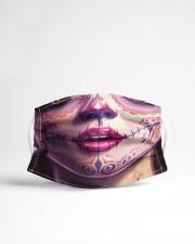 SUGAR SKULL GIRL 3 Cloth face mask aos-face-mask-lifestyle-22