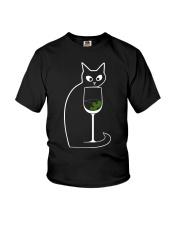 CAT COCKTAIL COSMOPOLITAN Youth T-Shirt thumbnail