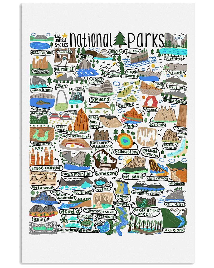 NATIONAL PARKS 16x24 Poster