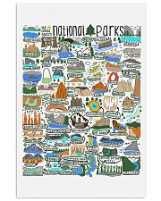 NATIONAL PARKS 16x24 Poster front