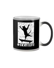 SKATE LIFE - CAT LOVERS Color Changing Mug thumbnail