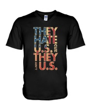 THEY AINT US V-Neck T-Shirt thumbnail