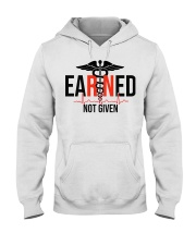 EARNED RN NOT GIVEN Hooded Sweatshirt thumbnail