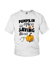 SAVING LIVES Youth T-Shirt tile