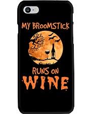 MY BROOMSTICK RUNS ON WINE Phone Case thumbnail