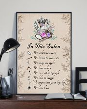 In this salon - we love hair 11x17 Poster lifestyle-poster-2