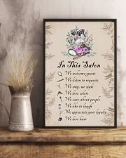 In this salon - we love hair 11x17 Poster lifestyle-poster-3