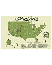 NATIONAL PARKS CHECKLIST 24x16 Poster front